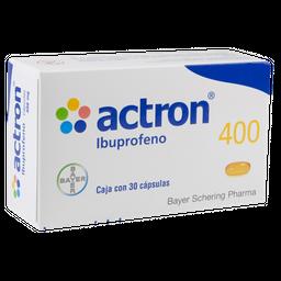 Actron 400 mg 30 Cápsulas