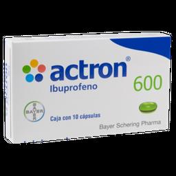 Actron 600 mg 10 Cápsulas