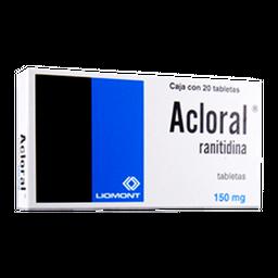 Acloral 20 Tabletas