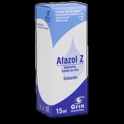 Afazol Zoftálmica 15 mL Solución gotero