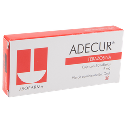 Adecur 30 Tabletas 2 mg