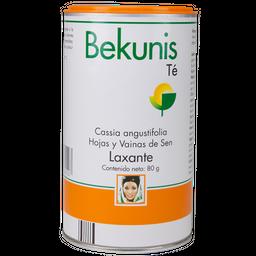 Bekunis Té, Hojas y vainas en polvo Laxante 80 g