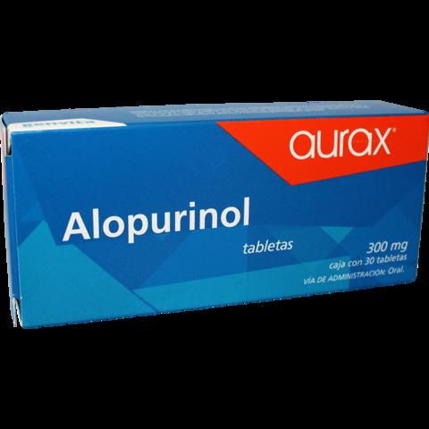 Genvita Bioresearch Alopurinol 300 Mg Aurax 20 Tableta(S) Caja