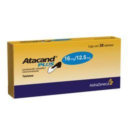 Atacand Plus 28 Tabletas 16 mg/ 12.5