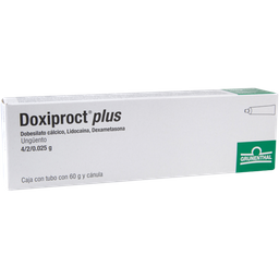 Doxiproct Plus 60 g Ungüento Tubo