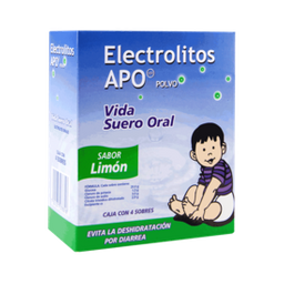 Electrolitos Suero Oral en Polvo Sabor Limón