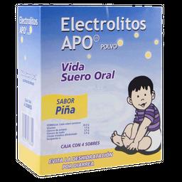 Electrolitos Suero Oral en Polvo Sabor Piña