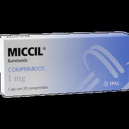 Miccil 20 Comprimidos