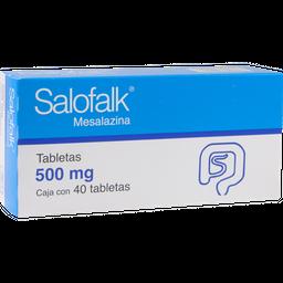 Salofalk Farmasa 40 Tableta(S) Caja Mesalazina 500 Mg