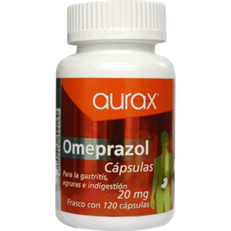 Vitafast 120 Cápsulas Frasco Omeprazol 20 mg