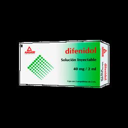 Clorhidrato de difenidol 40 mg