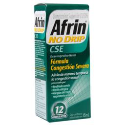 Afrin No drip congestión severa 15 mL