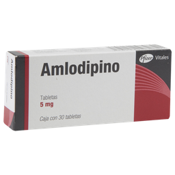 Amlodipino 30 Tabletas