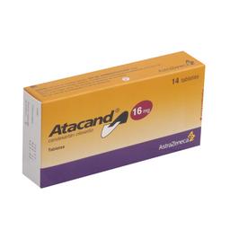 Astrazeneca Atacand 14 Tableta(s)Candesartán cilexetilo 16 mg
