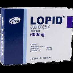 Lopid 14 Tabletas