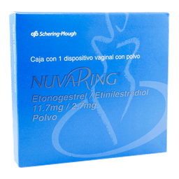 Nuvaring Dispositivo vaginal 1 U