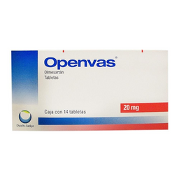 Openvas 14 Tabletas de 20 mg
