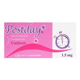 Postday Unidosis 1 Comprimido