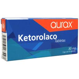 Ketorolaco 30 mg Genvita Sublingual 6 Tabletas