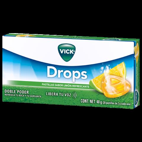 Pastillas Vick Drops Sabor Limón