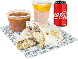 Envío Gratis: Combo Burraquil + Coca-Cola sin Azúcar