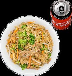 Envío Gratis: Arroz Chino para 2 + 2 Coca-Colas sin Azúcar
