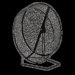 Petco Rueda Para Ejercicio 12.7 cm diámetro X 5.08 cm an