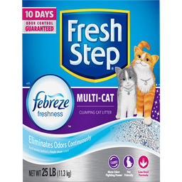 Fresh Step Arena Aglutinante Multi Gato con Febreeze