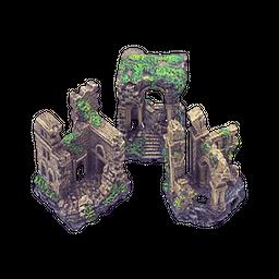 Petco Decoración Ruinas Perdidas 8.89 cm al
