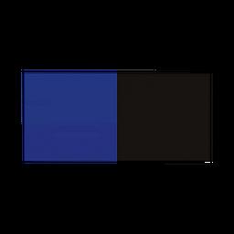 Seaview Inc. Respaldo Azul Negro 60 cm