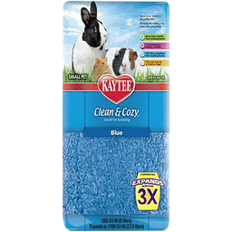 Kaytee Cama Clean & Cozy Azul