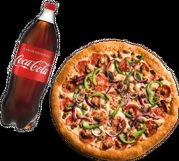 Envío Gratis: Jalapeño Hut Cheese Mexicana + Coca-Cola