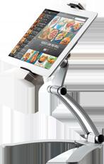 Soporte Metálico para Tablet Universal Plata