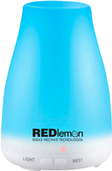 Difusor Aceites Esenciales, Aromaterapia y Humidificador LED