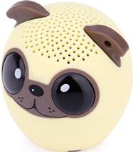 Micro Bocina Bluetooth En Forma Perro Pug