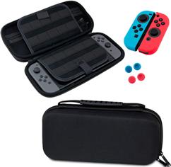 Kit 4 en 1 para Nintendo Switch: Funda, Mica Glass, Protectores