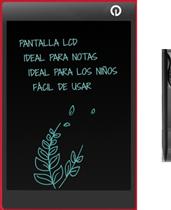 Tablet LCD para Notas tipo Pizarrón Mágico para Refrigerador