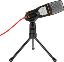 Micrófono Condensador Semiprofesional con Mini Tripie