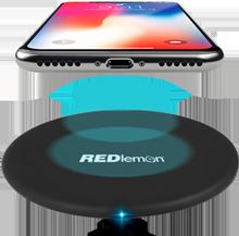 Cargador Inalámbrico Tecnología Qi USB Fast Charge