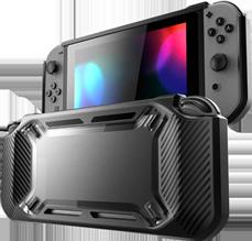 Funda Protector Hardcover para Nintendo Switch Negro