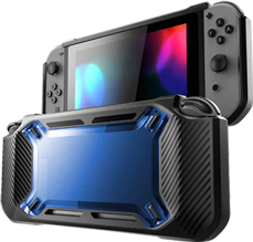 Funda Protector Hardcover para Nintendo Switch Azul