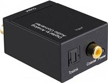 Convertidor de Coaxial a RCA Audio y Video, Análogo a Digital