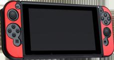 Funda Protectora de Aluminio Nintendo Switch y Joy-Con Rojo