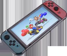 Funda Protectora para Nintendo Switch y Joy-Con Humo