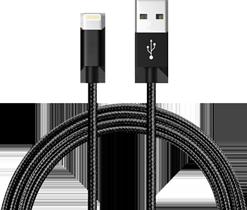 Cable para iPhone y iPad de 3 Metros, de Nylon Resistente