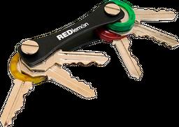 Llavero Organizador Smartkey Mini para 10 Llaves Planas Negro