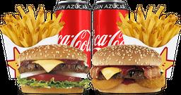 Envío Gratis: Famous Star y Western Bacon + Coca-Cola Sin Azúcar
