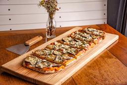 Pizza grande de Berenjena
