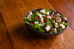 Ensalada de Mozzarella fresca y champiñones