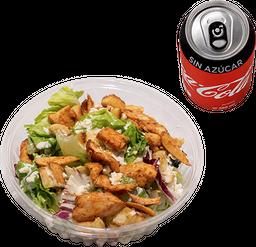 Envío Gratis: Ensalada César + Coca-Cola Sin Azúcar